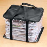 Home Organization - Newspaper Storage Case