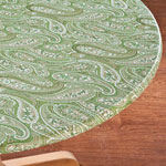 Table Top & Entertaining - Paisley Elasticized Table Cover