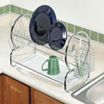Kitchen Sale - Two-Tier Compact Dish Rack