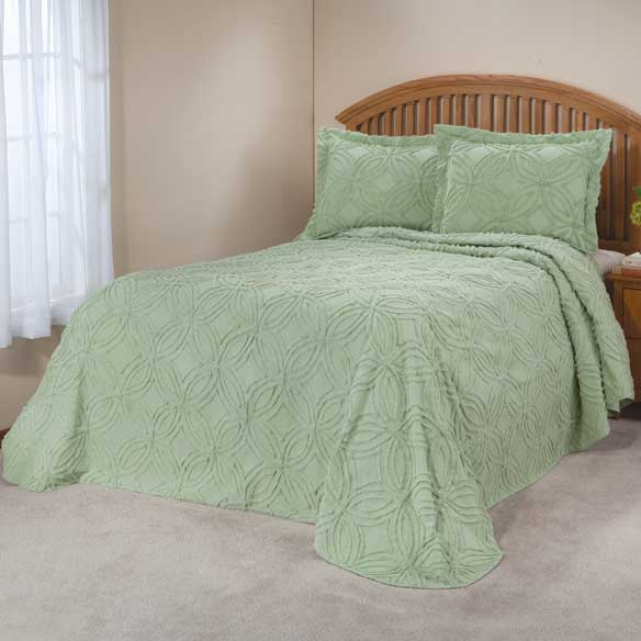 The Eliza Chenille Bedspread by OakRidge™ Comforts - View 1