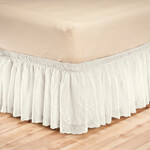 Bedroom Basics - Eyelet Bed Ruffle