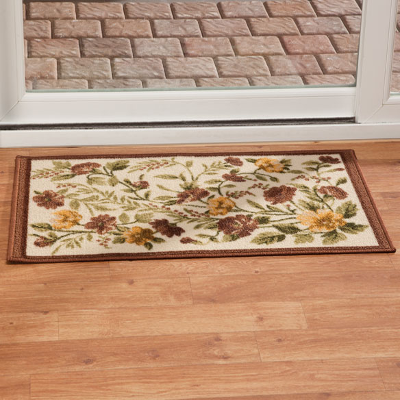 Floral Tapestry Rug - View 1