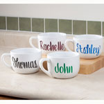 Web Exclusives - Personalized Soup Mug