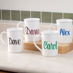Gifts Under $10 - Personalized Coffee Mug