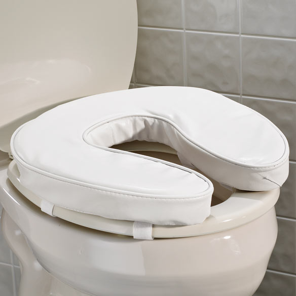 Padded Toilet Seat Cushion Padded Raised Toilet Seat Walter Drake