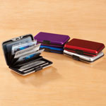 Safe Holiday Travel - Aluminum Credit Card Holder