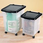 Small Space Solutions - Rolling Storage Bins