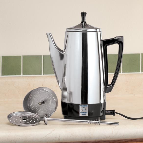 Presto® Stainless Steel Percolator - View 1