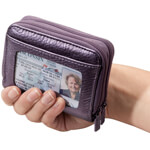 Safe Holiday Travel - Buxton RFID Accordion Wallet