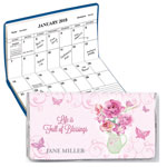 New - Pitcher of Blessings 2 Year Personalized Planner