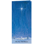 Christmas Cards - The Star Still Shines Christian Christmas Card Set of 20