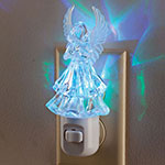 Decorations & Accents - Color Changing Angel Night Light