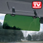 Safe Summer Travel - Visor Extender With Clips