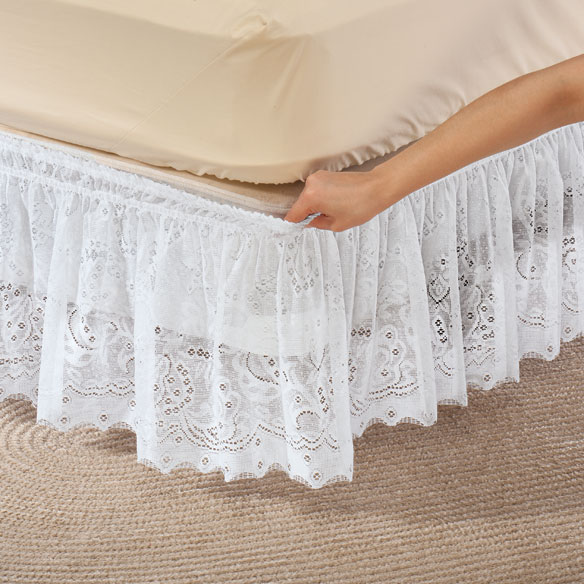 Lace Bed Ruffle - View 1