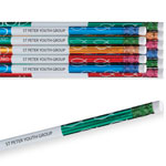 World Religion Day  - With God Foil Pencil Assortment Set of 12