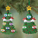 Decorations & Storage - Personalized Christmas Tree Ornament