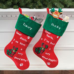 Holidays & Gifts Sale - Personalized Pet Stocking
