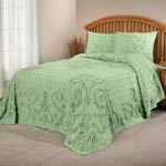 White Sale - The Elizabeth Chenille Bedding