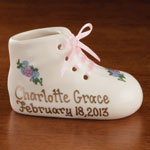 Personalized Gifts - Personalized Deluxe Baby Bootie