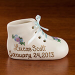 Quick Gift Ideas - Personalized Baby Bootie