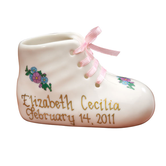 Personalized Baby Bootie - View 1