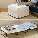 Small Space Solutions - Ottoman Bed