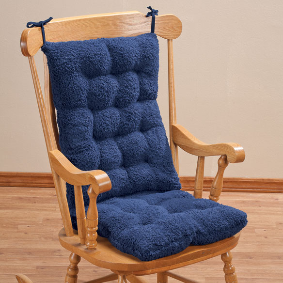 Sherpa Rocking Chair Cushion Set by OakRidge Comforts™ - View 1