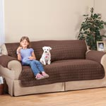 Decorations & Accents - Microfiber Sofa Protector by OakRidge™ Comforts