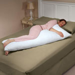 White Sale - CoolMax® Body Pillow