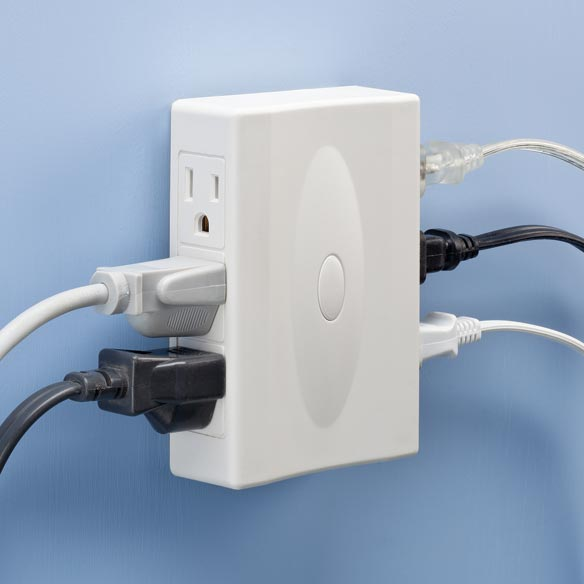 6-Outlet Plug Adapter - View 1