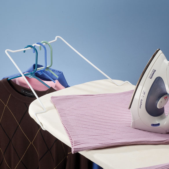 Deluxe Ironing Board Port-A-Hanger