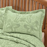 White Sale - The Caroline Chenille Sham by East Wing Comforts™