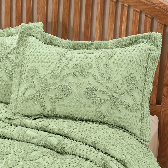 The Caroline Chenille Sham by OakRidge™ Comforts - View 1