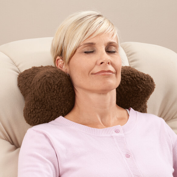 Sherpa Neck Cradle Pillow by OakRidge Comforts™