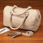 Handbags & Wallets - Soft Leather-Rich Satchel