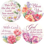 World Religion Day  - Religious Floral Stickers - Set Of 144