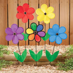 5 Star Products - Colorful Flower Wind Spinners