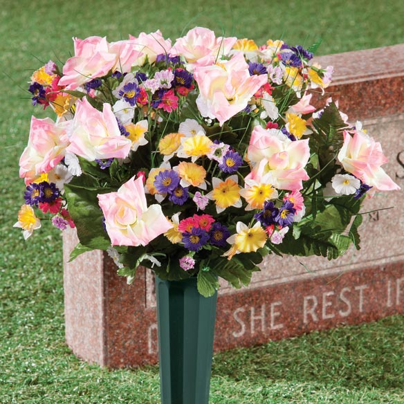 Spring Floral Memorial Bouquet by OakRidge™ - View 1
