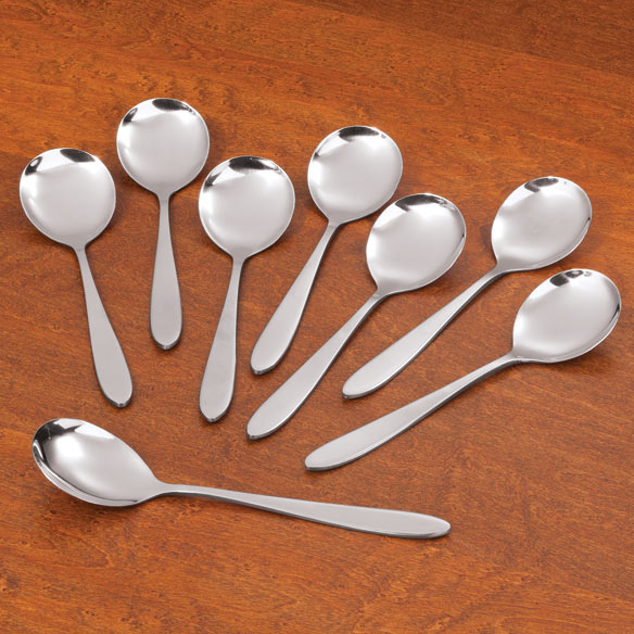 Soup Spoons, Set of 8