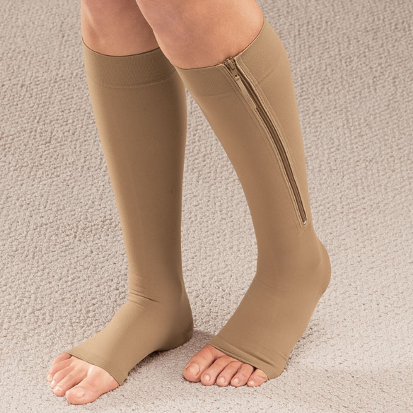Easy On Compression Socks, 20-30 mmHg - 1 Pair