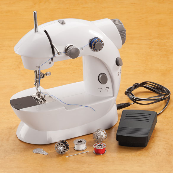Compact Sewing Machine - View 1