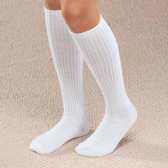 Graduated Compression Diabetic Calf Sock - View 1