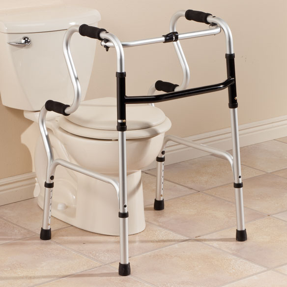 2-In-1 Folding Walker - View 1