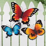 5 Star Products - Metal Butterflies, Set of 3 by Maple Lane Creations™