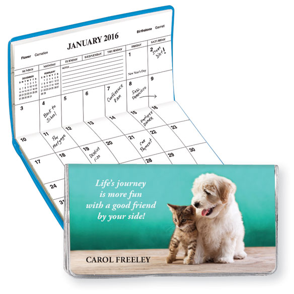 Personalized Friendship Journey Pocket Planner