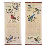 Five Star Favorites - Songbirds Scroll Calendar