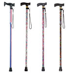 Mobility, Braces & Footcare - Fashion Folding Cane