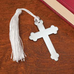Stocking Stuffers - Metal Cross Bookmarks, Set of 10