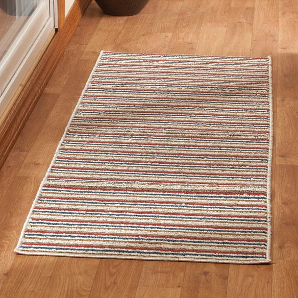 Striped Nonslip Runner - View 1