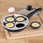 5 Star Products - Frying Pan With Egg Poacher Insert